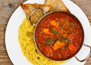 chicken jalfrezi a popular eastern curry sauce dish from india